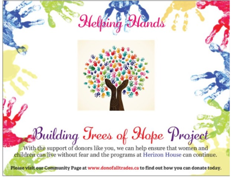Helping Hands Building Trees of Hope-Don Of All Trades
